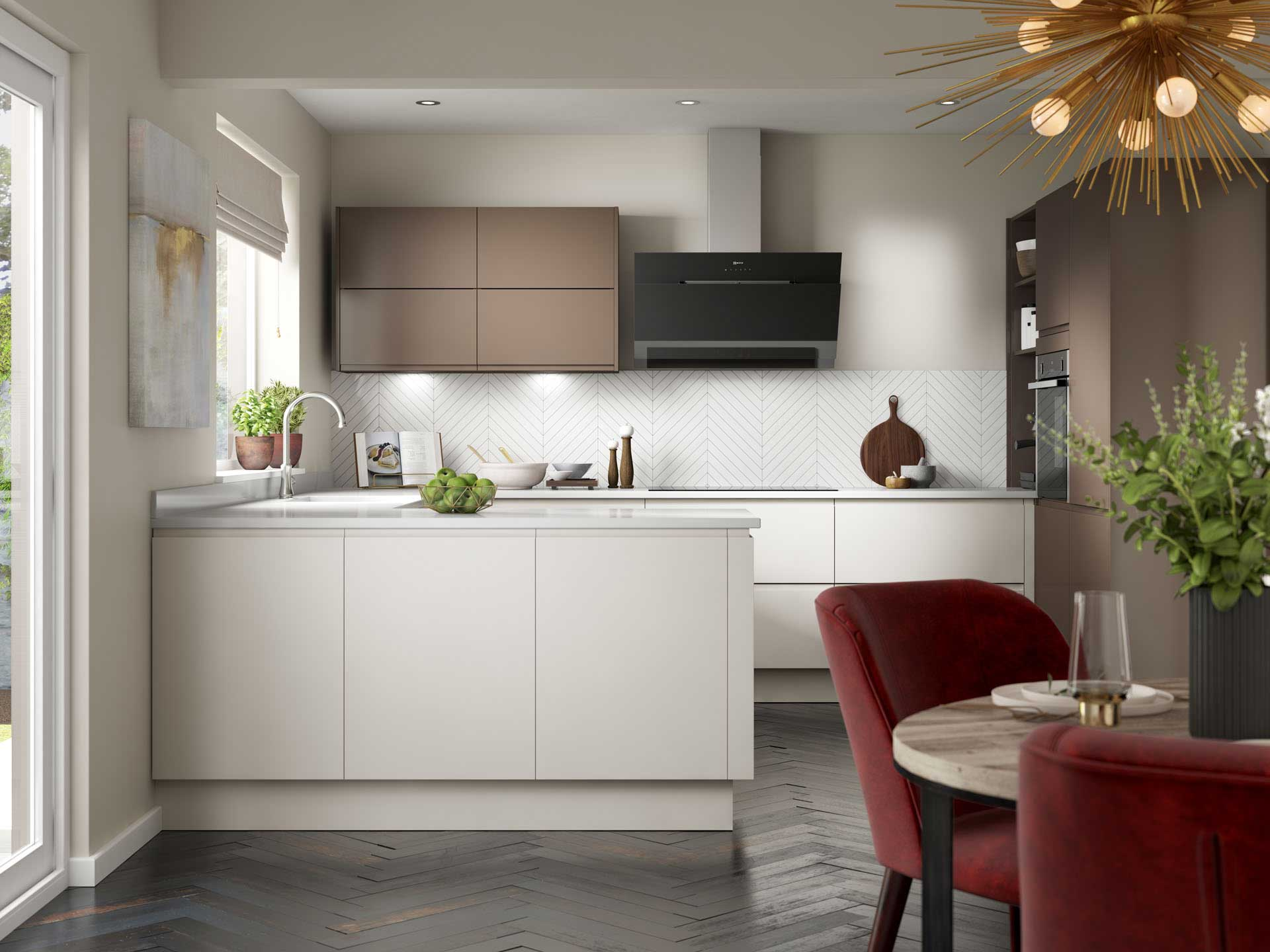 Fitted Kitchens, New Fully Fitted Kitchen Units UK, Design